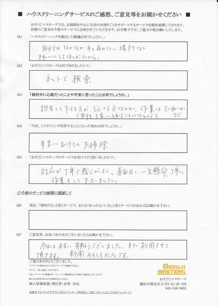 2015/11/17 水まわり4点 横浜市都筑区