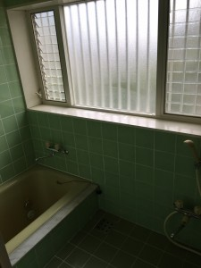 12/15 浴室クリーニング@中区山手町