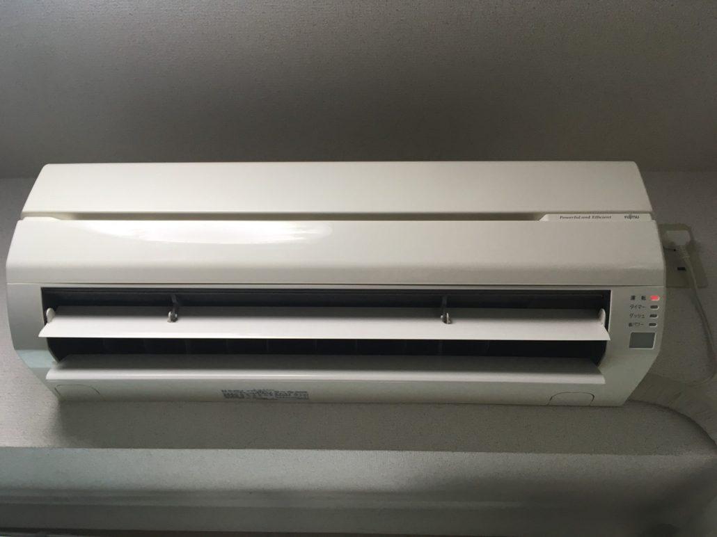エアコンクリーニング(エアコン洗浄)/三菱SRK22TR-W (通常タイプ)  /富士通AS-J40S-W(通常タイプ)