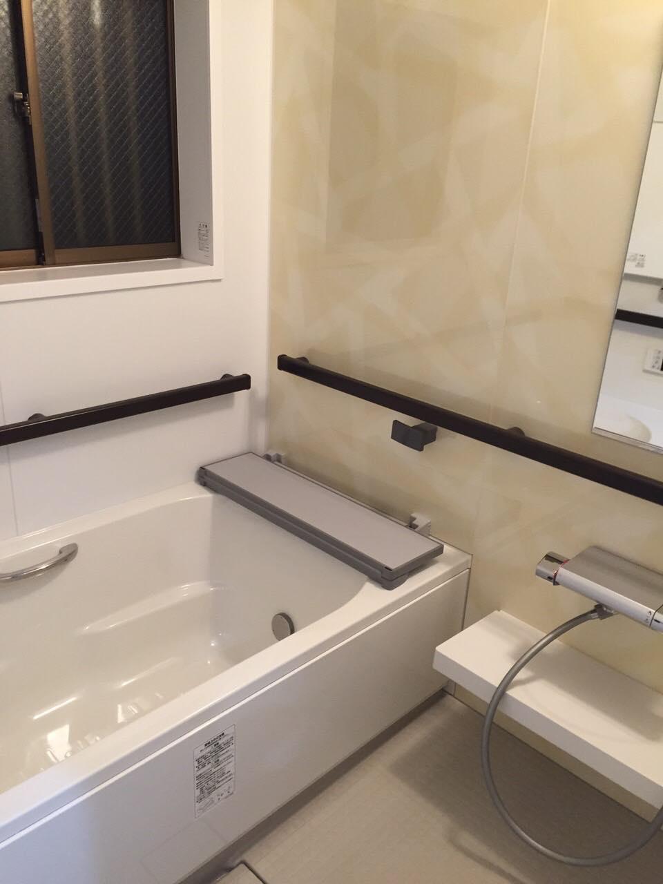 11/14 浴室、レンジフードクリーニング@保土ヶ谷区川辺町