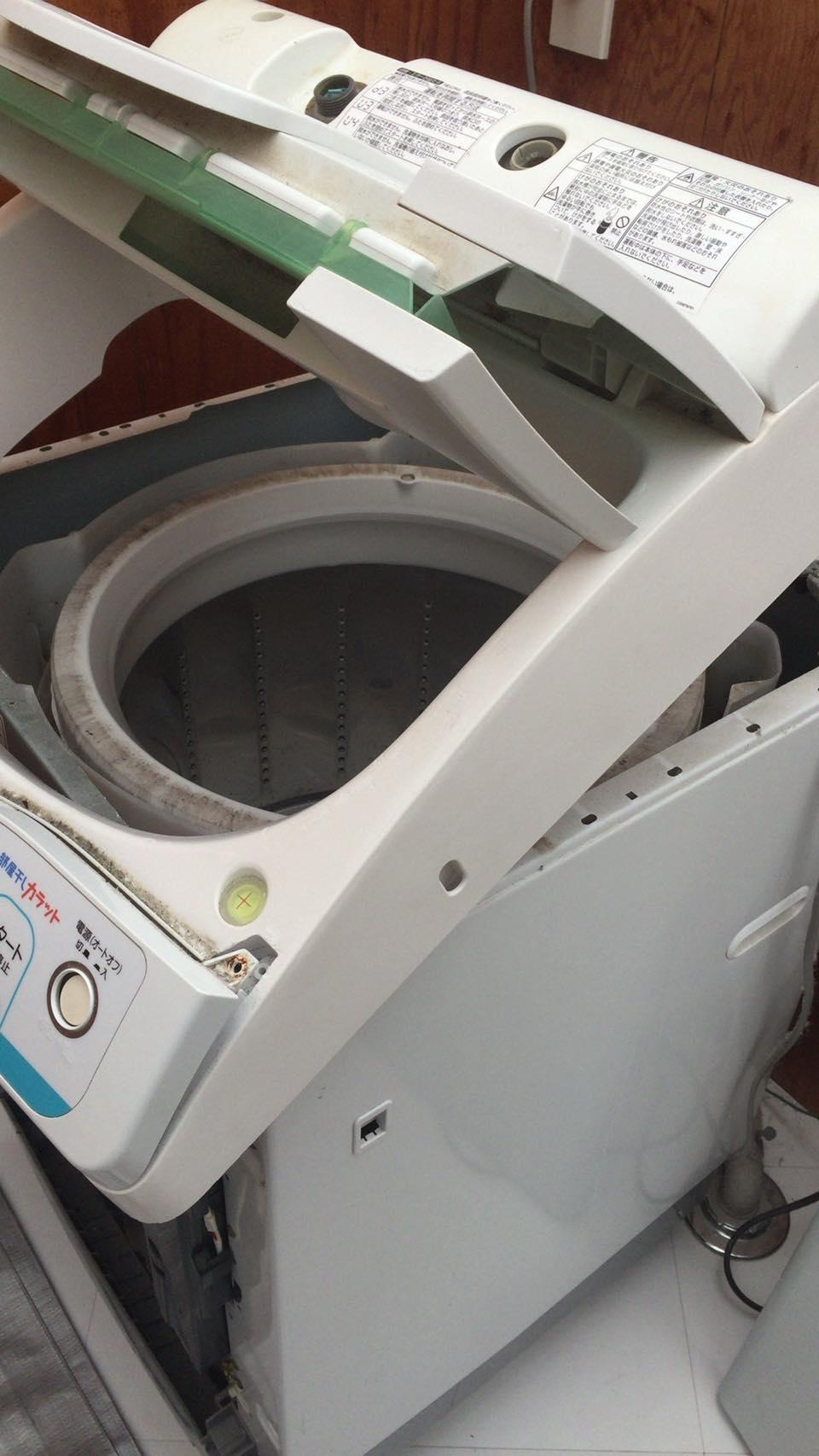 【隠れメニュー】洗濯機分解洗浄