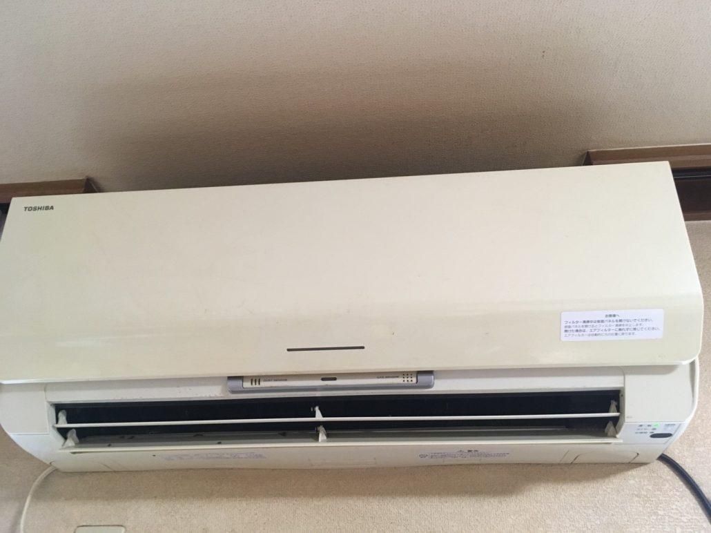 エアコンクリーニング(エアコン洗浄)/東芝製、 フィルター自動お掃除機能付きエアコン/ RAS-401BDR