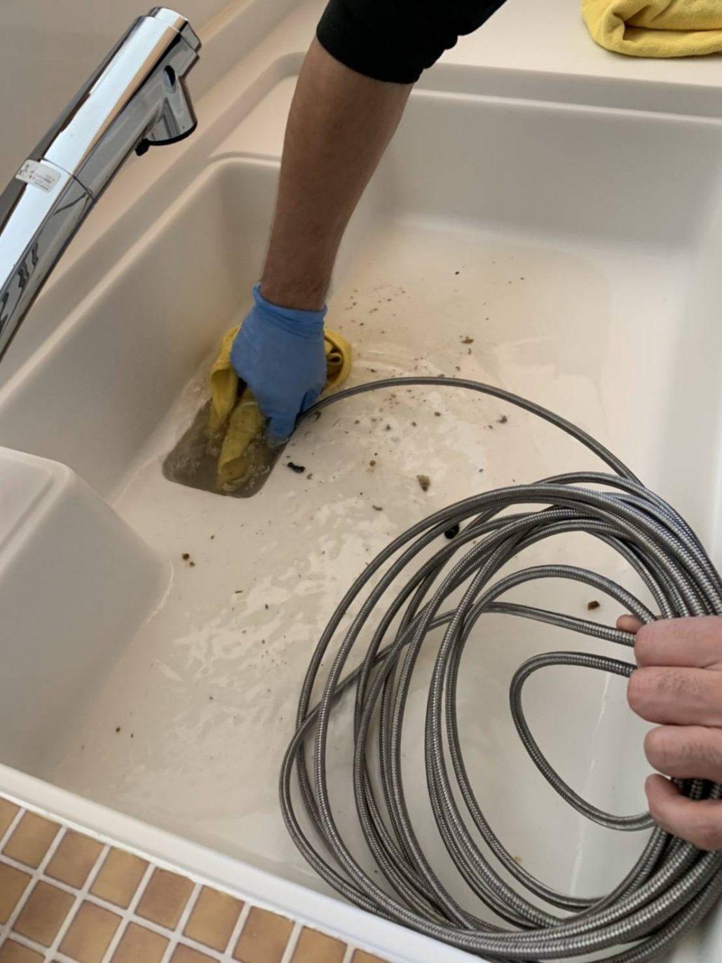 排水管洗浄(キッチン、浴室、洗面所、洗濯機の配管、排水マスの高圧洗浄)