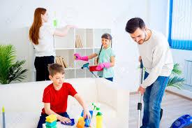 子供といっしょに大掃除