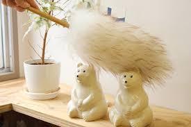 おしゃれな掃除道具、羊毛ダスター
