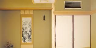 土壁 埋込式エアコンクリーニング