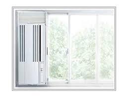 窓用エアコンのお掃除